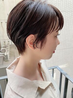 銀座/VIE/つばさ☆カットが上手い◎ナチュラルに可愛いスッキリショートヘア