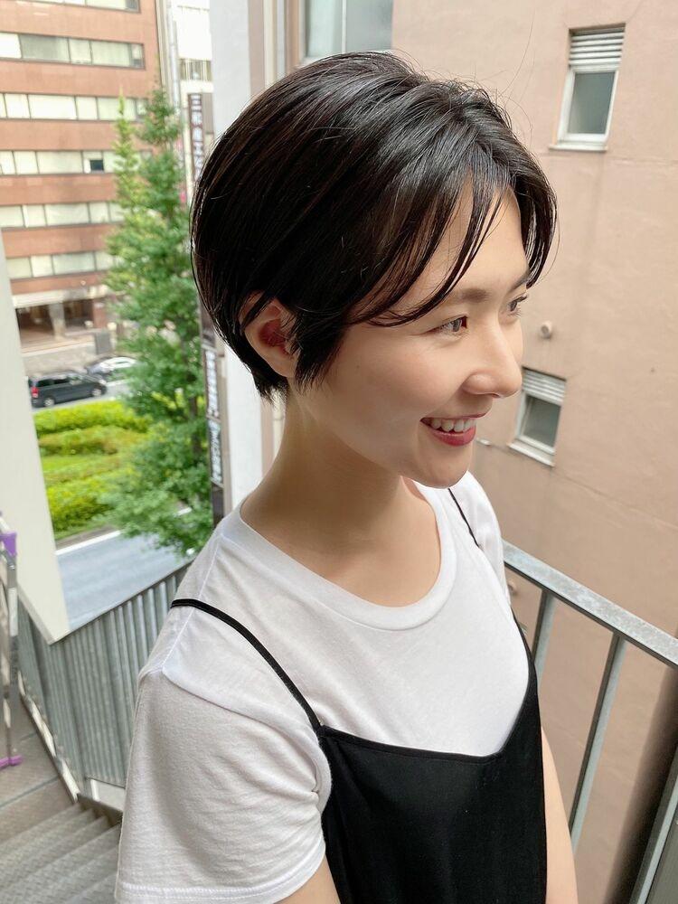 表参道・青山/VIE/つばさ☆カットが上手い◎大人オシャレなハンサムショート