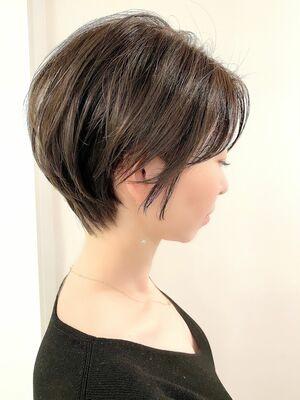 銀座/VIE/つばさ☆カットが上手い◎大人女性のふんわりショートヘア