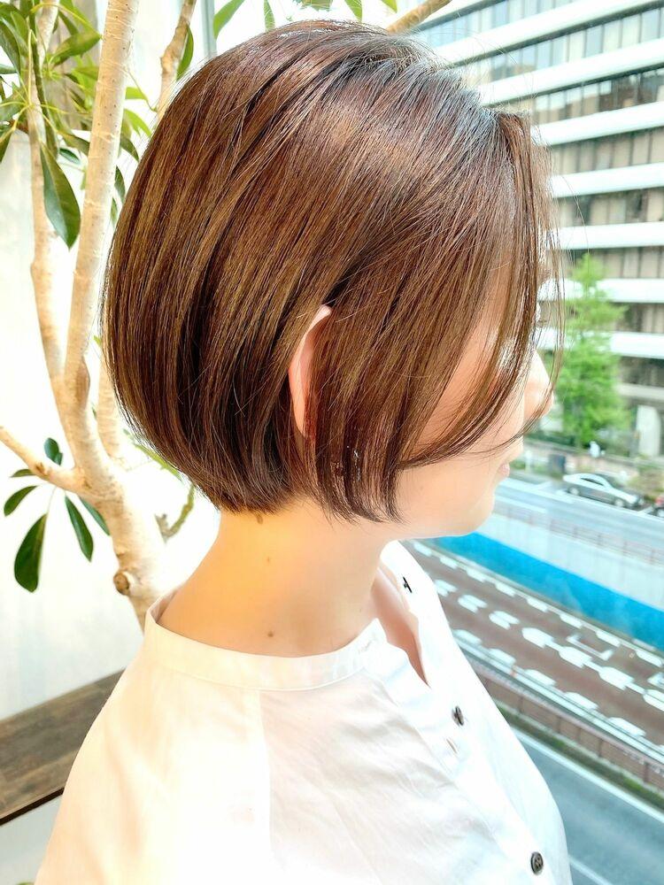 表参道・青山/VIE/つばさ☆カットが上手い◎大人女性のショートボブ