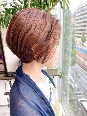 銀座/VIE/つばさ☆カットが上手い◎大人女性の為のショートボブ