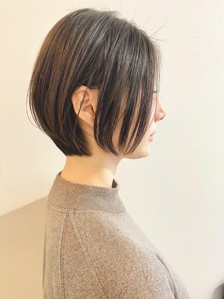 表参道・青山/VIE/つばさ☆カットが上手い◎ふんわりまとまるショートボブ