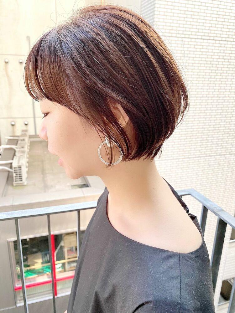 表参道・青山/VIE/つばさ☆カットが上手い◎ふんわり丸みショート