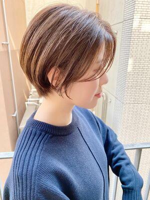 銀座/VIE/つばさ☆カットが上手い◎横顔美人なショートボブ
