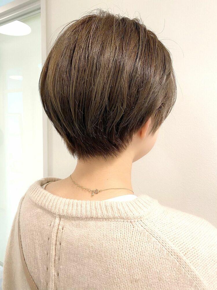 表参道・青山/VIE/つばさ☆カットが上手い◎後ろ姿もキレイなショートヘア
