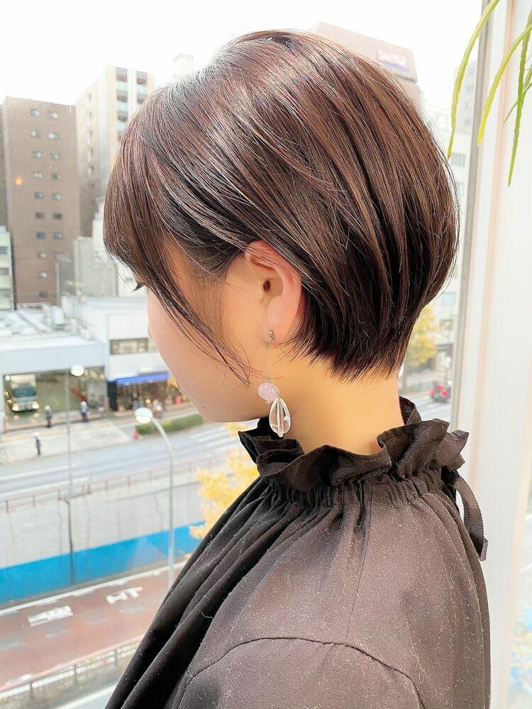 表参道・青山/VIE/つばさ☆カットが上手い◎シルエットがキレイなショートヘア