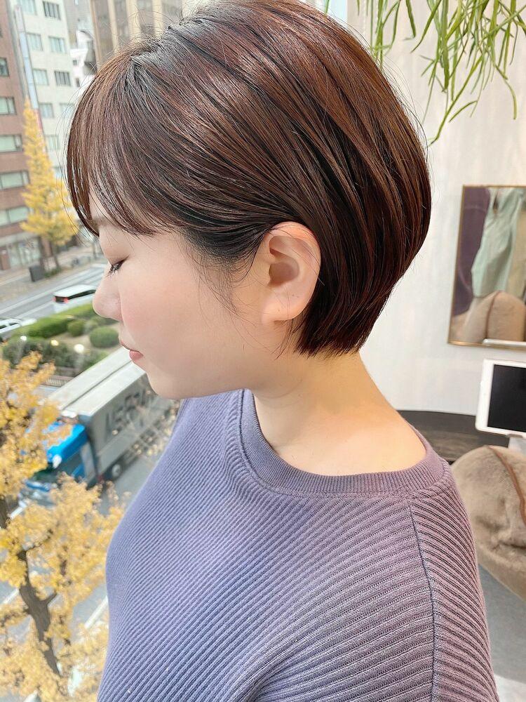 表参道・青山/VIE/つばさ☆カットが上手い◎乾かす大丈夫まとまるショートヘア