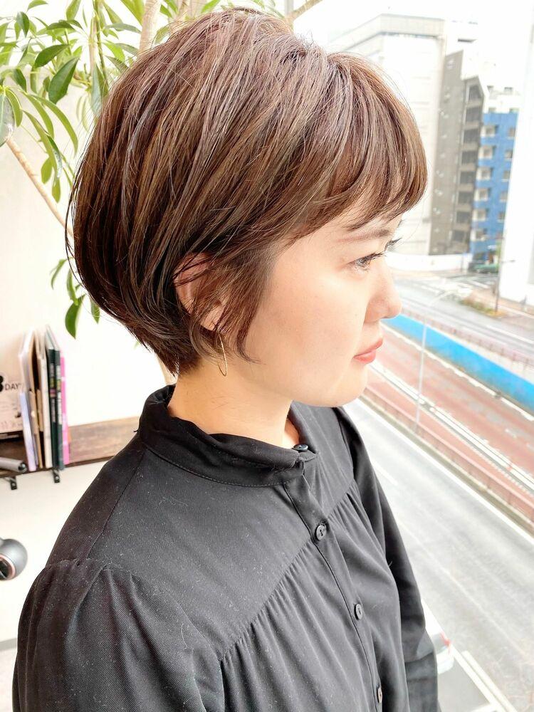 銀座/VIE/つばさ☆カットが上手い◎大人可愛いふんわりショートヘア