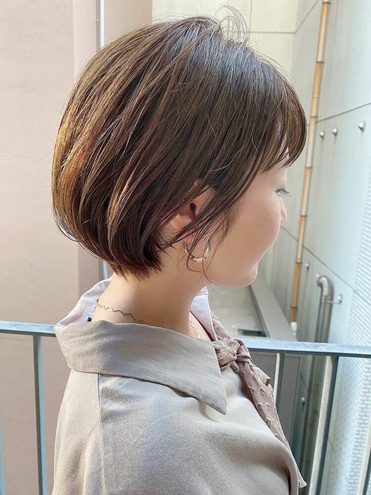 銀座/VIE/つばさ☆カットが上手い◎大人可愛いふんわりショートボブ