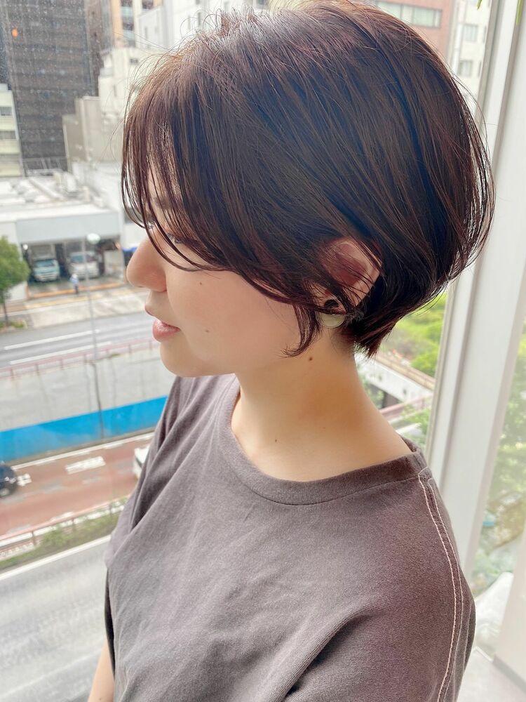 銀座/VIE/つばさ☆カットが上手い◎動きのあるショートボブ