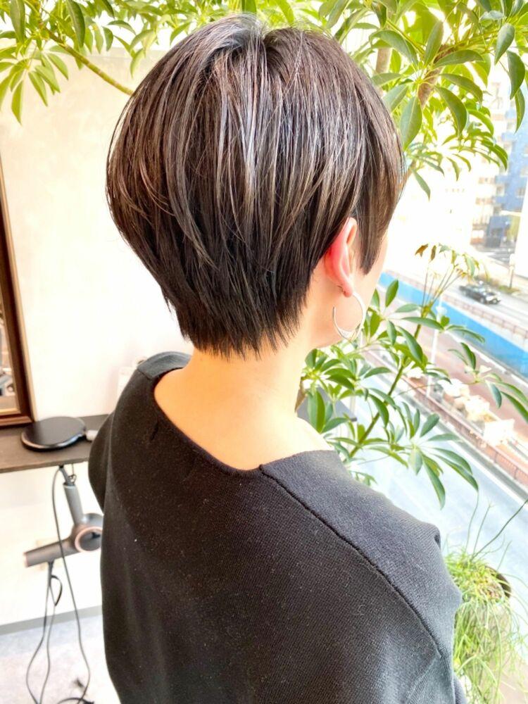 表参道・青山/VIE/つばさ☆カットが上手い◎大人女性のステキなショートヘア