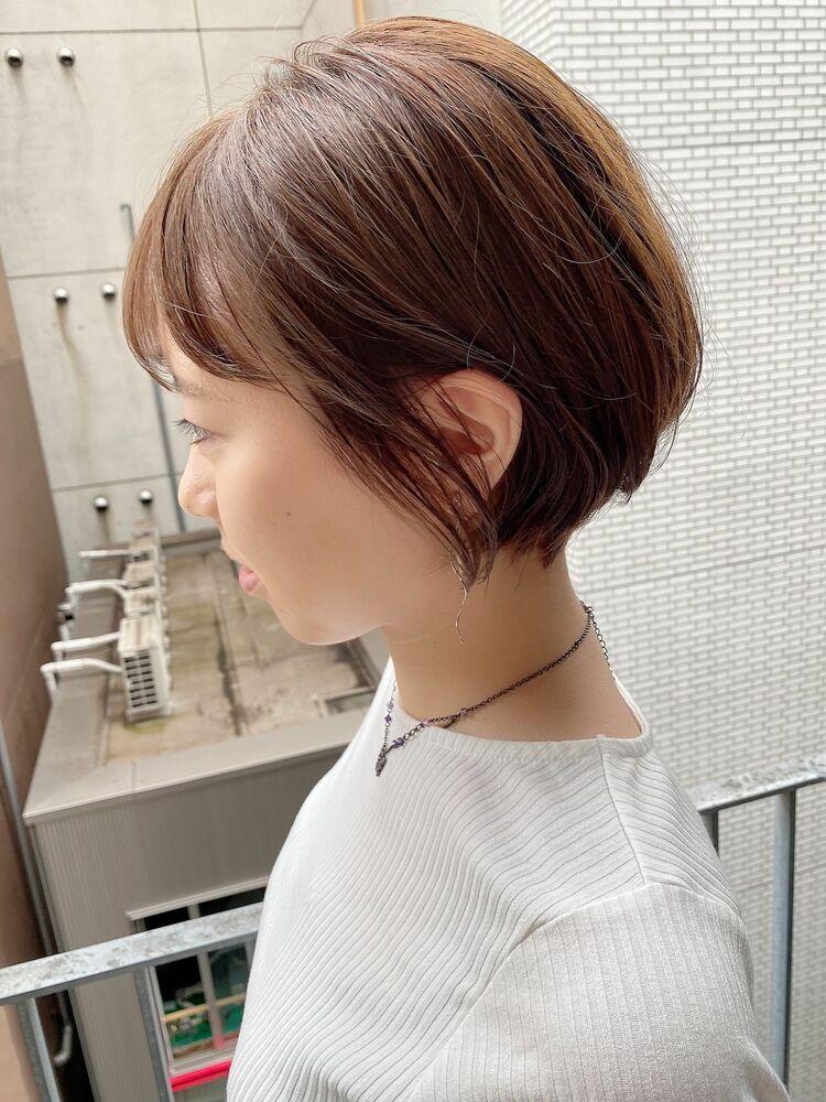 銀座/VIE/つばさ☆カットが上手い◎大人可愛い丸みショート