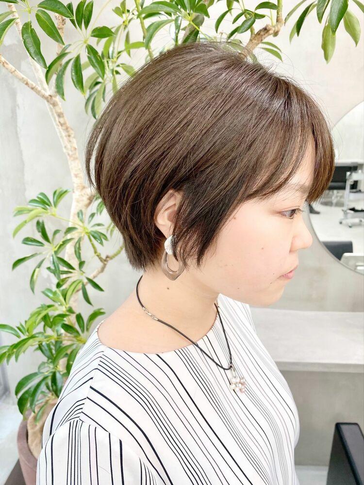 表参道・青山/VIE/つばさ☆カットが上手い◎乾かすだけでまとまるショートヘア