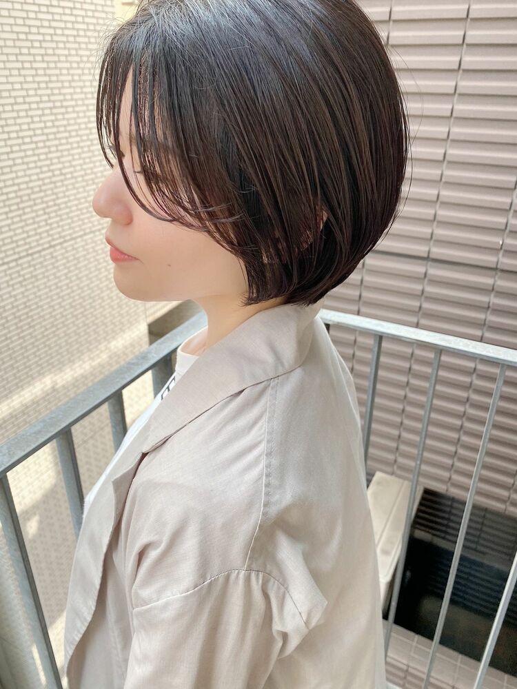 表参道・青山/VIE/つばさ☆カットが上手い◎ナチュラルに可愛いハンサムショート