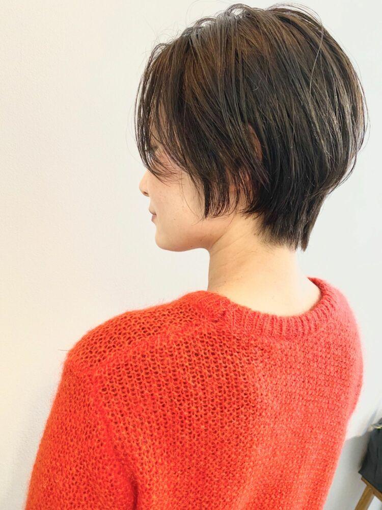 銀座/VIE/つばさ☆カットが上手い◎シルエットがキレイなハンサムショート