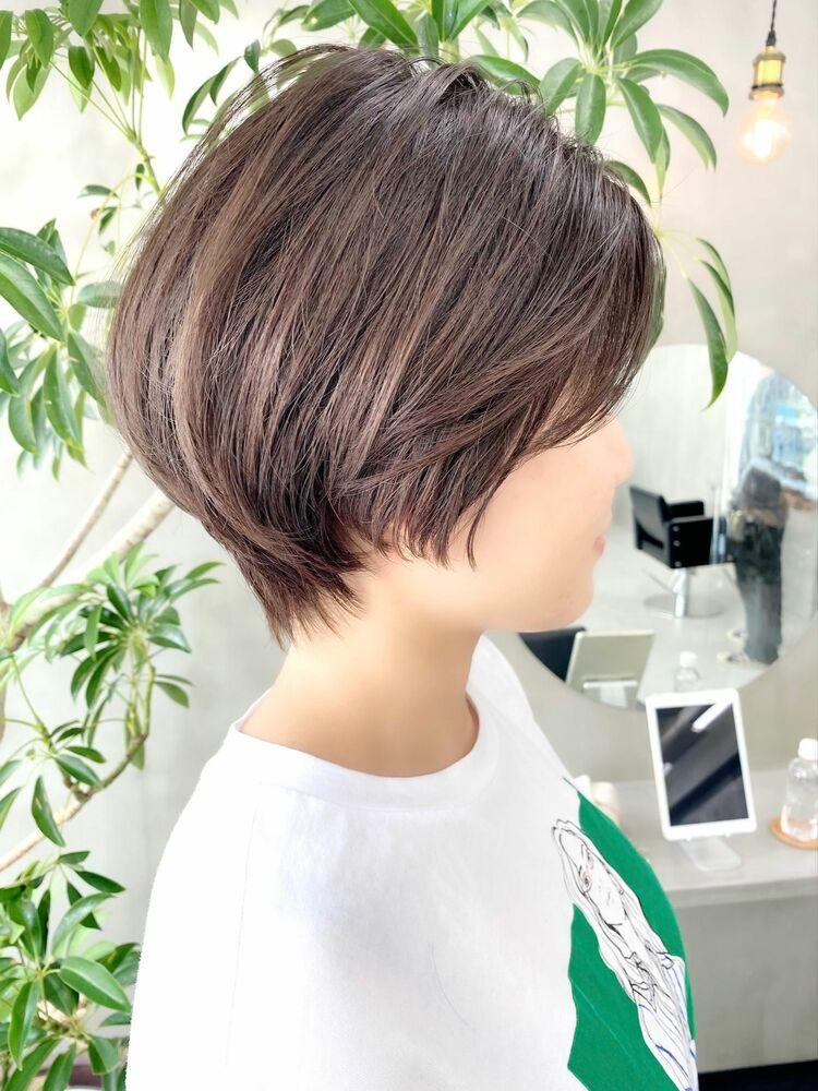 表参道・青山/VIE/つばさ☆カットが上手い◎後頭部ふんわりショート