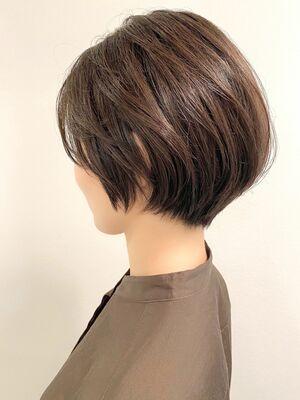 銀座/VIE/つばさ☆カットが上手い◎ふんわりボリュームのあるショートヘア