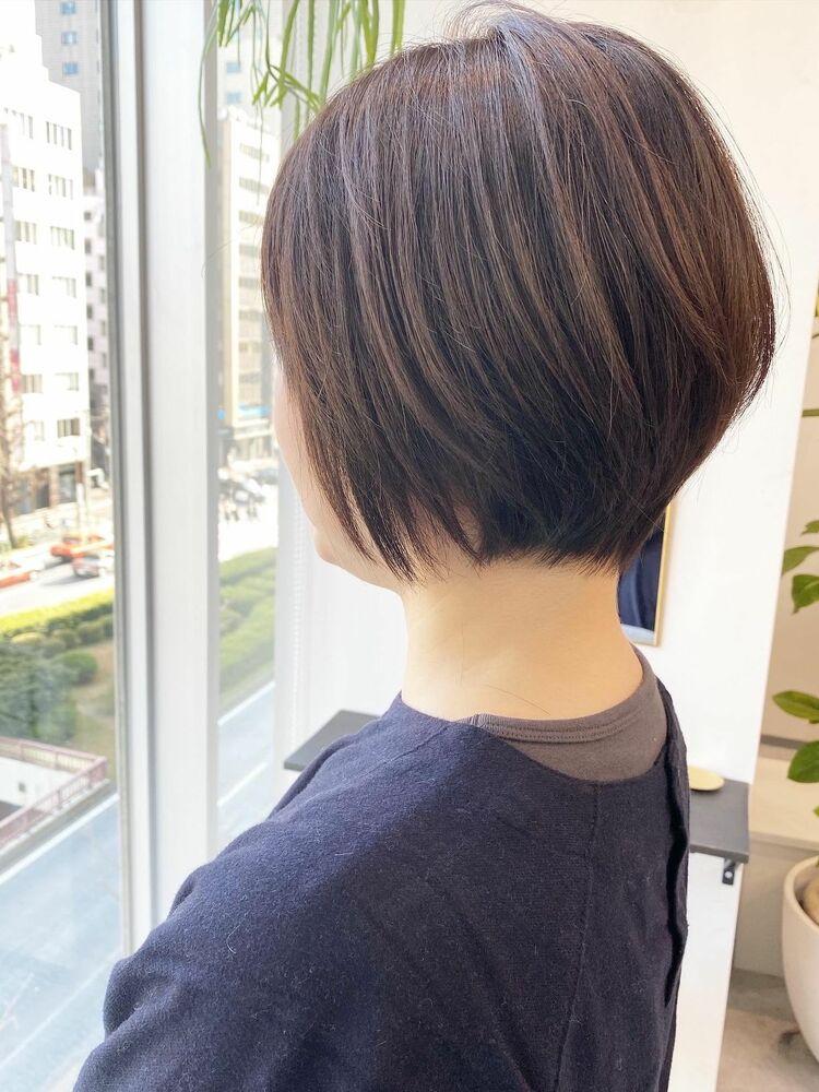 表参道・青山/VIE/つばさ☆カットが上手い◎乾かすだけでキレイにまとまるショートボブ