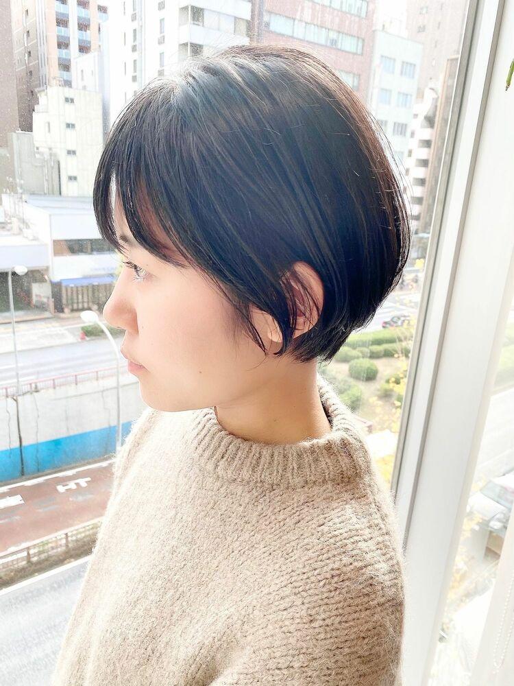 表参道・青山/VIE/つばさ☆カットが上手い◎ナチュラルに可愛いショート