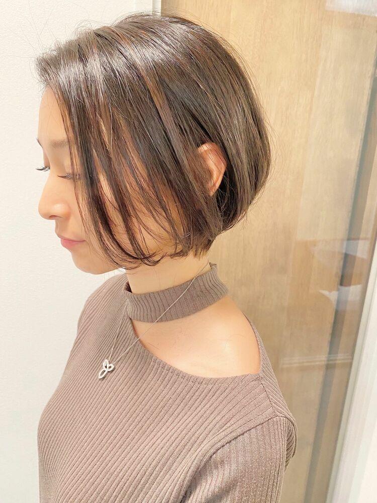 表参道・青山/VIE/つばさ☆カットが上手い◎横顔美人なショートボブ