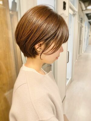 銀座/VIE/つばさ☆カットが上手い◎ふんわり大人可愛い丸みショート