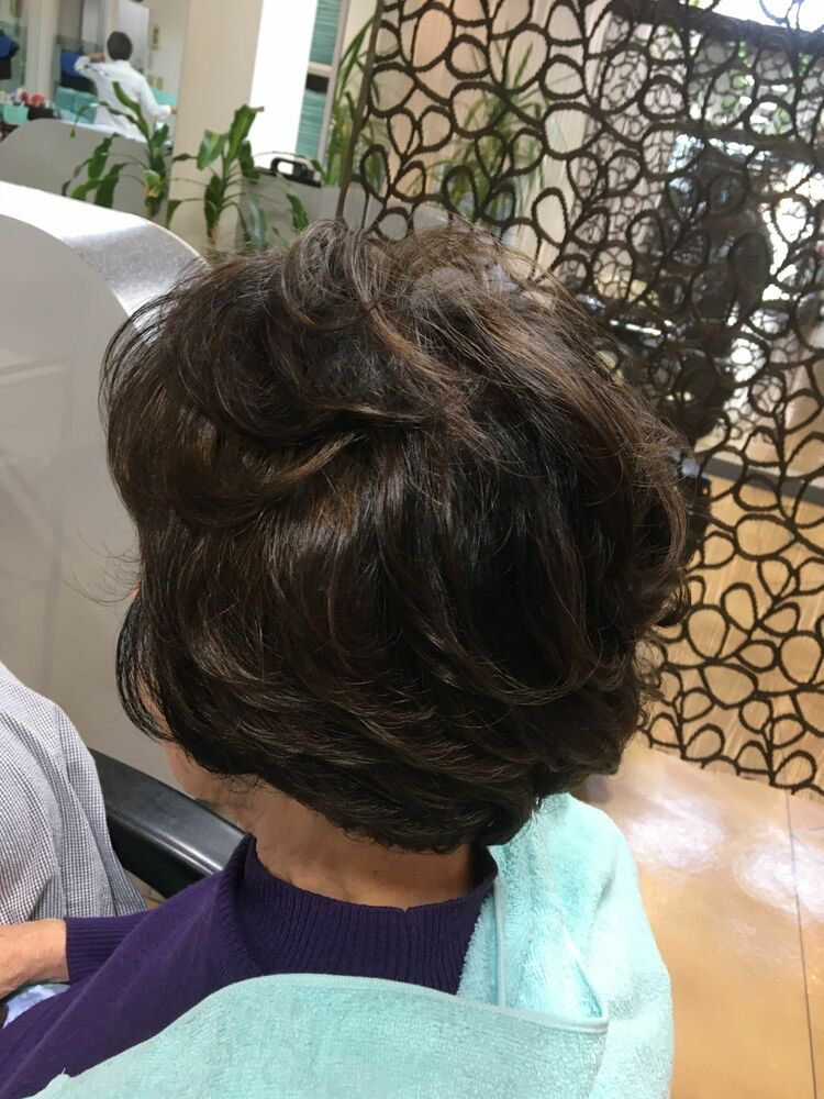 髪質改善、奥様パーマは当店で決まり❣️✨