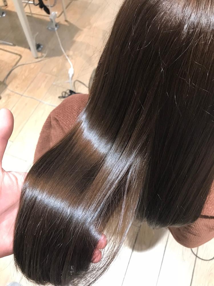髪質改善トリートメントで極上の艶髪に