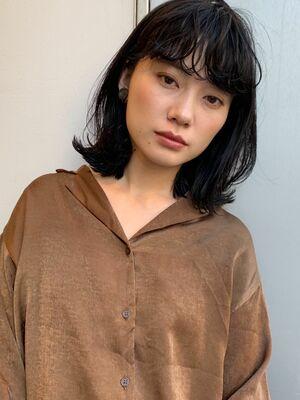 apish omotesando/外ハネパーマ