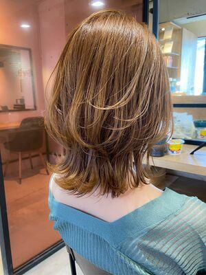 髪が明るく透明感のあるカラーに♪脱白髪染め&ゼロテク&育てる極細ハイライト『dydi大洞拓也』