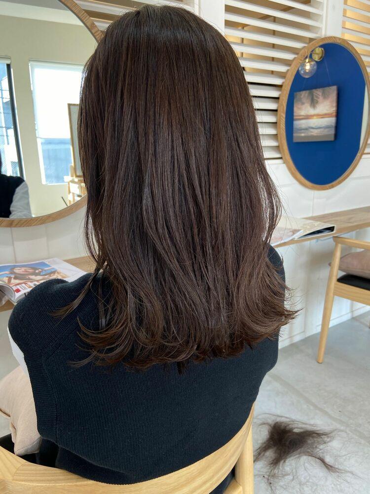 髪が明るく透明感のあるカラーに♪脱白髪染め&育てる極細ハイライト『dydi大洞拓也』