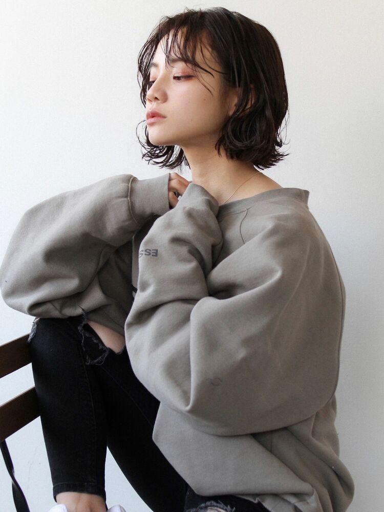《 L. 》セミウェット/ニュアンスウェーブボブ☆