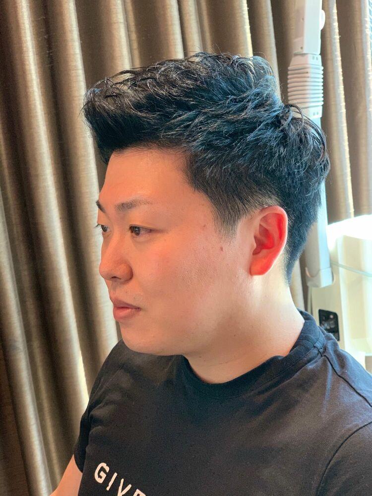 大人の黒髪ナチュラルショート
