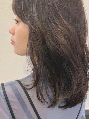 韓国風アイロンパーマ