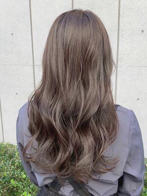 まろやかナッティブラウン×髪質改善トリートメント