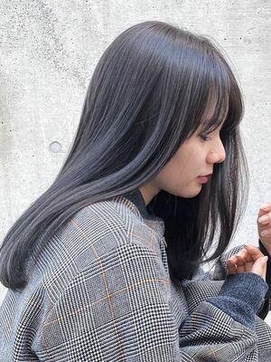 シアーグレージュ/髪質改善トリートメント/透明感カラー/美髪