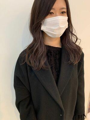 韓国風ミディアムヘア