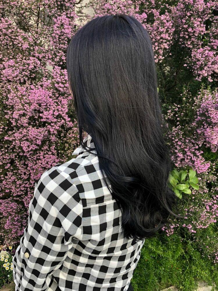 韓国風地毛カラー