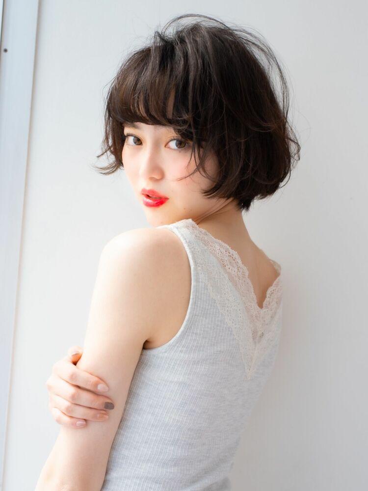 IPPS銀座蓑田朝菜 横顔綺麗小顔スタイリング簡単再現ショート