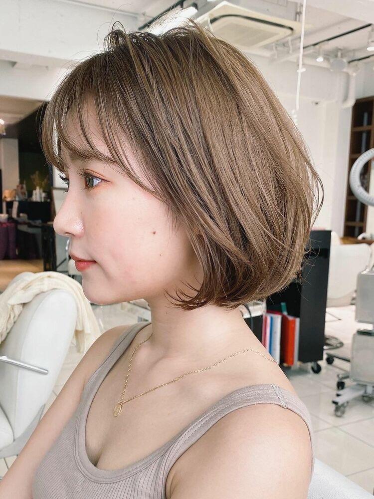 LIPPS銀座蓑田朝菜ボリュームボブ