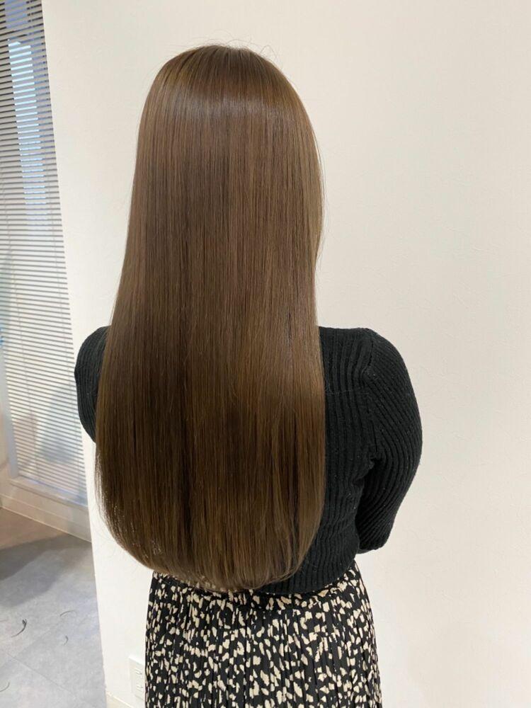 イルミナカラー×髪質改善で極上のツヤ髪*