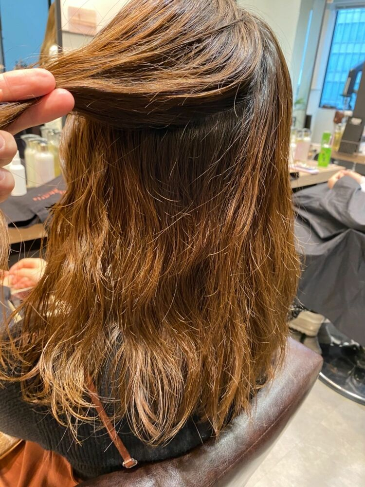 髪質改善トリートメント×イルミナカラー