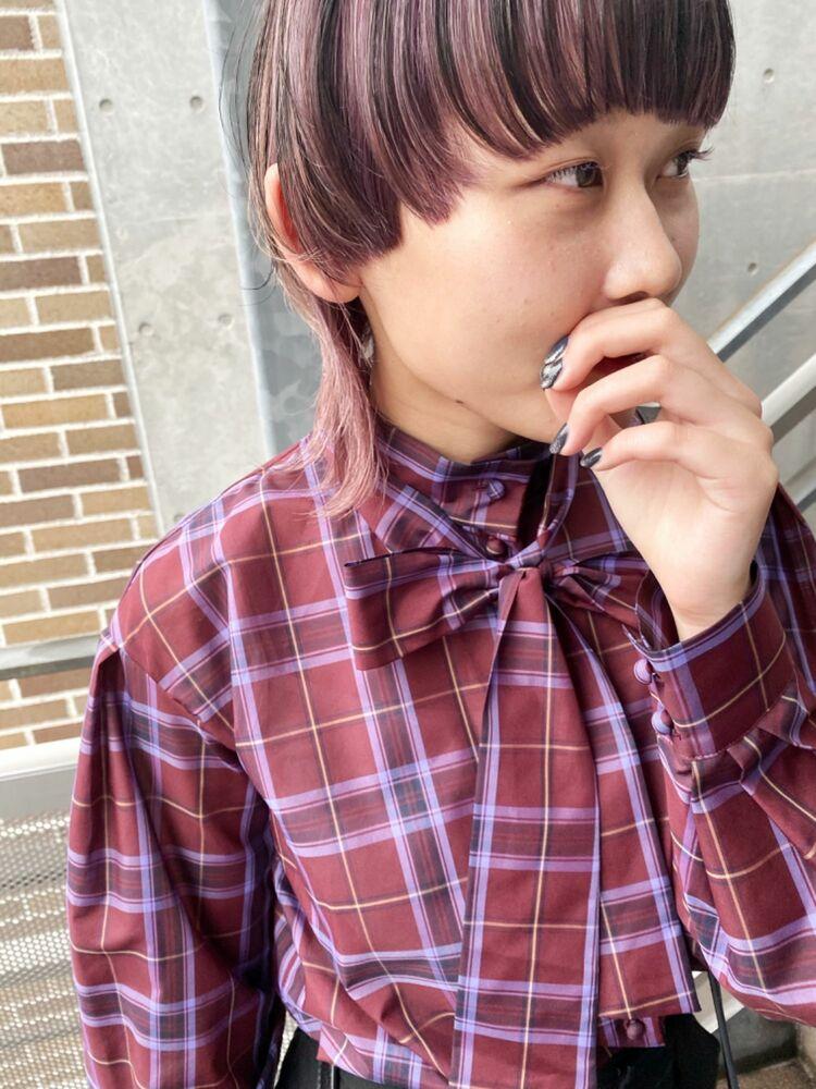 loki 原宿《ラベンダーネオウルフ》Instagram@loki_daisuke