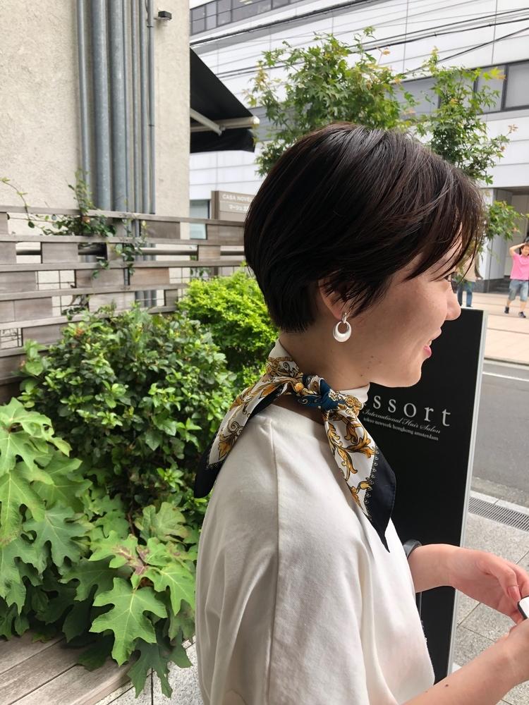 『Assort Tokyo』大人かわいいマニッシュショート 外苑前駅徒歩3分表参道駅徒歩15分