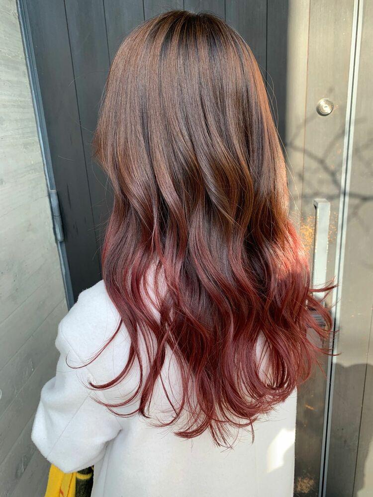 グラデーションカラー/ピンク