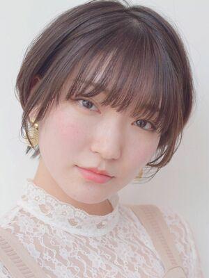 石田勇士郎 うざったバング☆小顔ショート