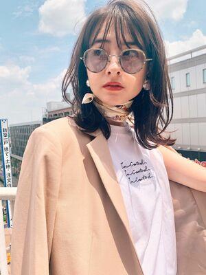 Lila by afloat吉祥寺2分/小笠原/くびれレイヤーのアッシュグレージュ/