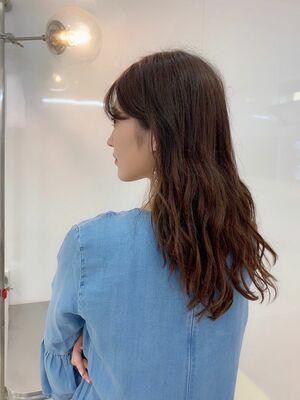韓国風肌映えカラー🇰🇷💜 ハイトーンカラー・艶カラーも開催中🌟