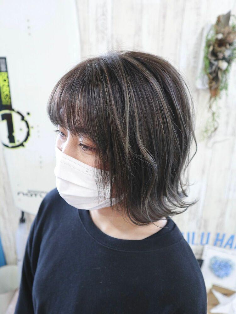 白髪染めがオシャレに変わる『3Dハイライト』