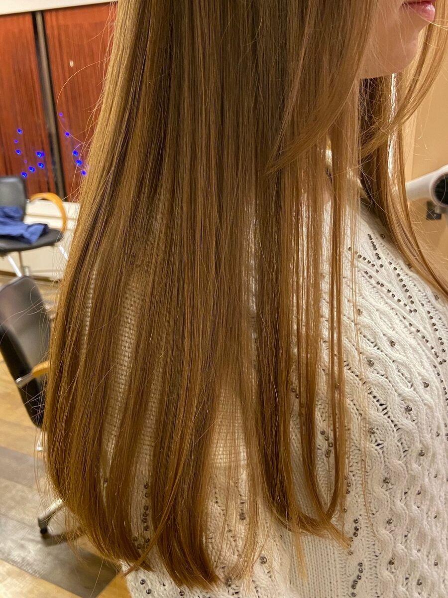 髪質改善でさらさらに❤︎