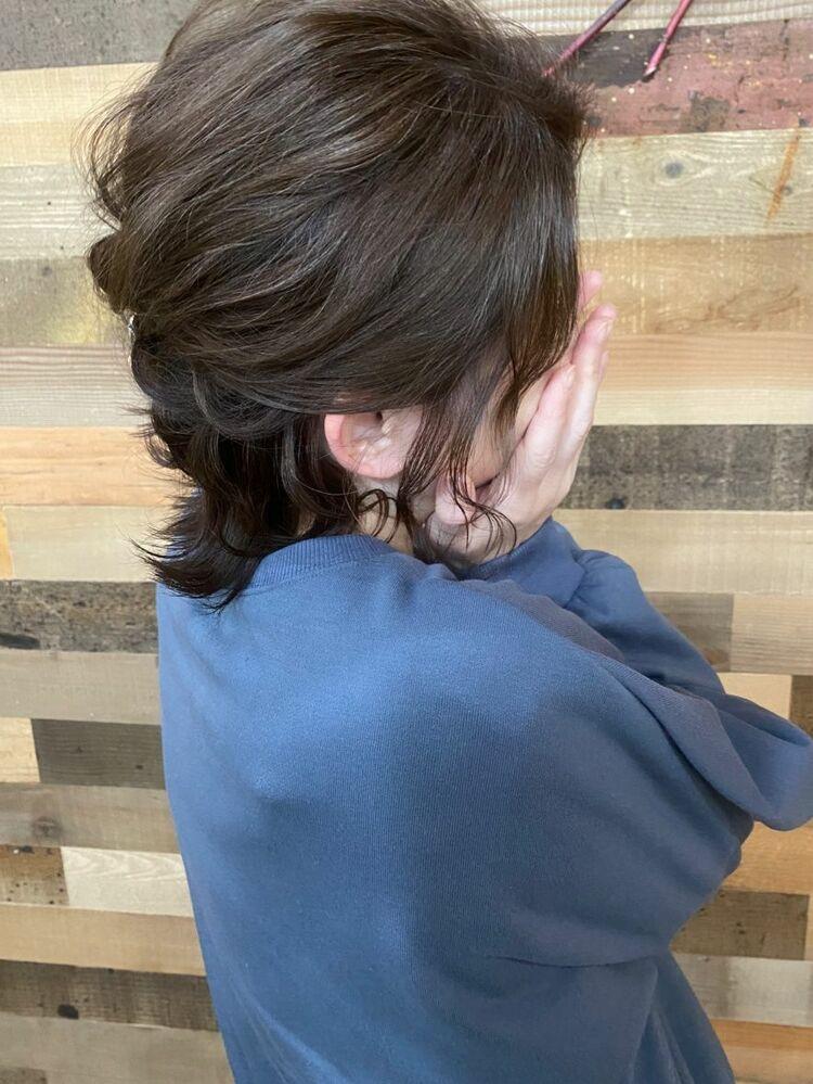 脱白髪染めヘアー